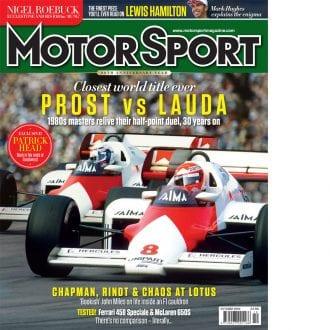 Product image for October 2014 | Prost Vs Lauda | Motor Sport Magazine