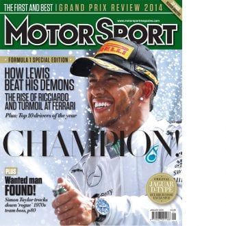 Product image for January 2015 | Champion! | Motor Sport Magazine