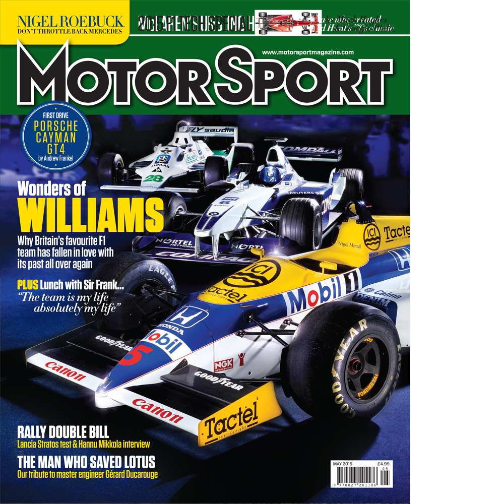 Product image for May 2015   Wonders Of Williams   Motor Sport Magazine