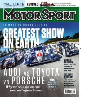 Product image for June 2015   Greatest Show On Earth   Motor Sport Magazine