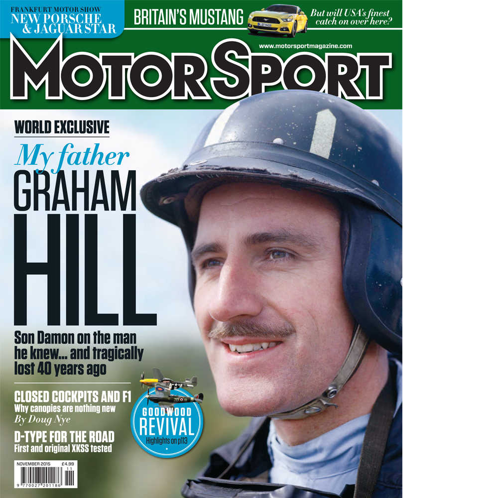 Product image for November 2015   My Father Graham Hill   Motor Sport Magazine