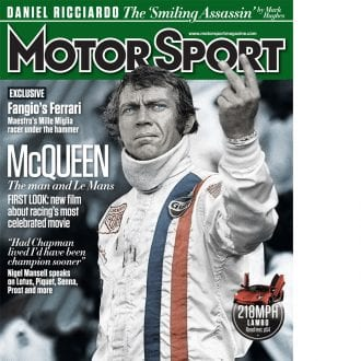 Product image for December 2015   McQueen: The man and Le Mans   Motor Sport Magazine