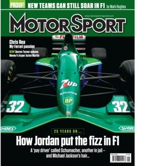Product image for May 2016   How Jordan Put The Fizz In F1   Motor Sport Magazine
