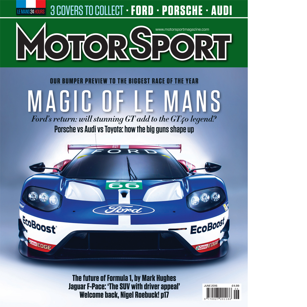 Product image for June 2016   Magic of Le Mans   Motor Sport Magazine