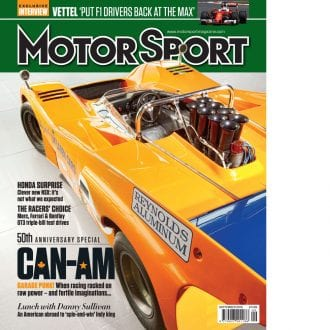Product image for September 2016   Can-Am   Motor Sport Magazine