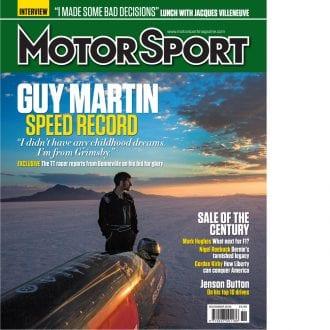 Product image for November 2016   Guy Martin: Speed Record   Motor Sport Magazine