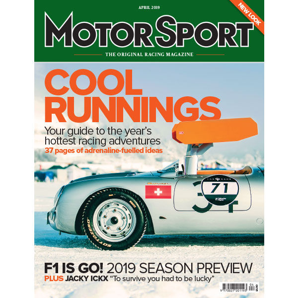 Product image for April 2019   Cool Runnings   Motor Sport Magazine