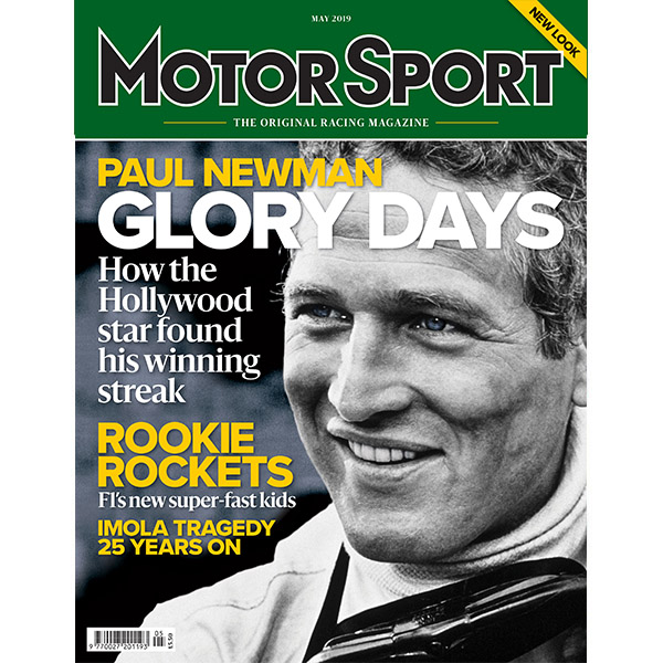 Product image for May 2019   Paul Newman: Glory Days   Motor Sport Magazine