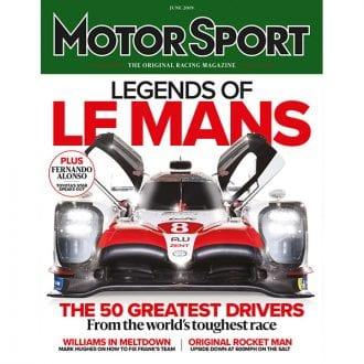Product image for June 2019 | Legends of Le Mans | Motor Sport Magazine