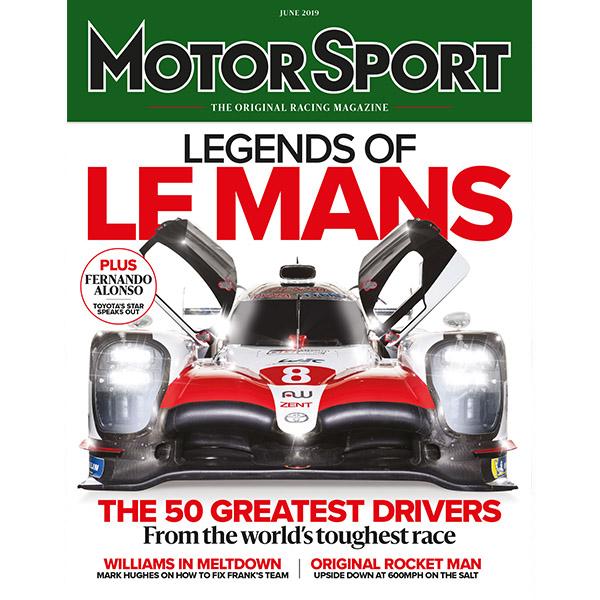 Product image for June 2019   Legends of Le Mans   Motor Sport Magazine