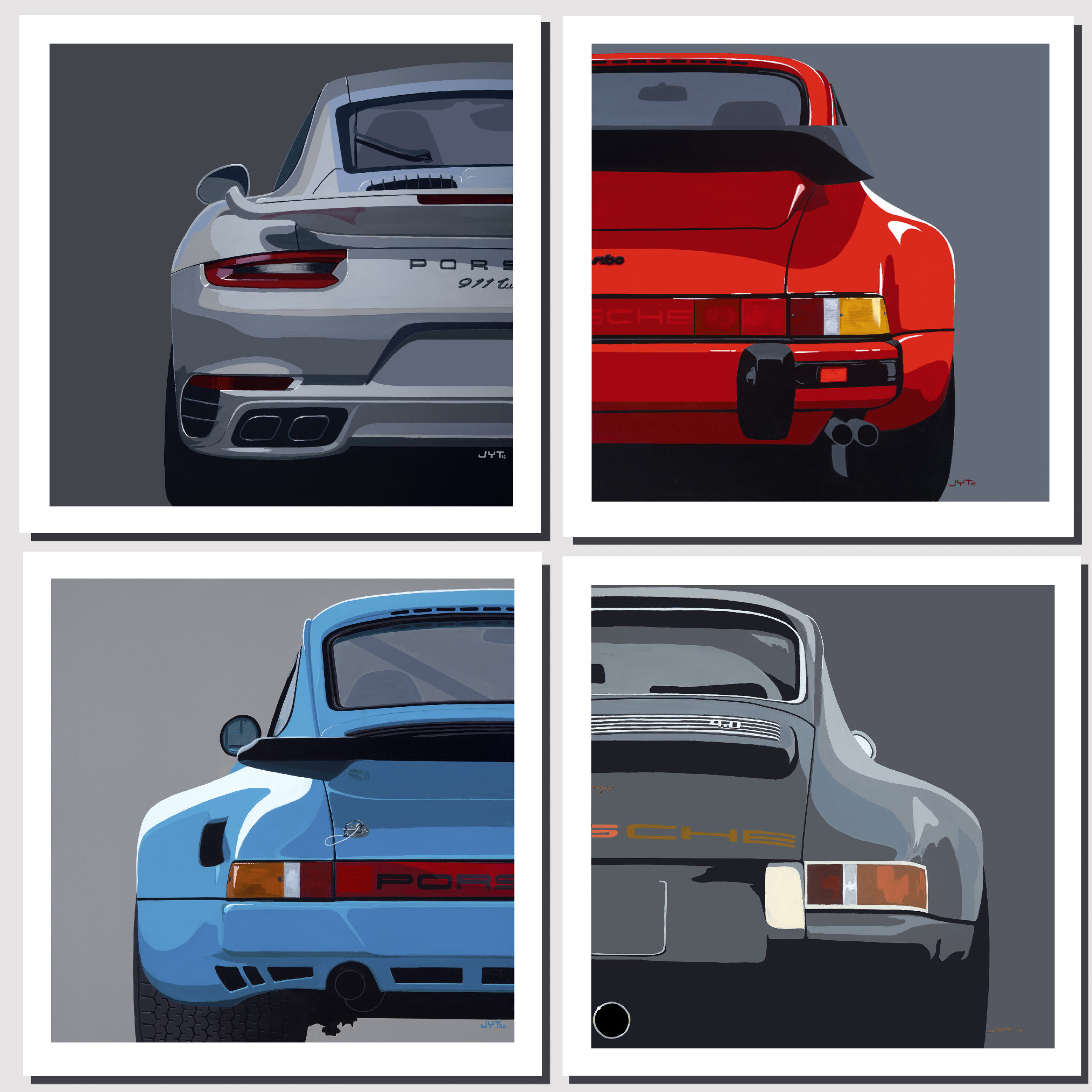 Product image for Modern Classic | Porsche 911 | Jean-Yves Tabourot | Limited Edition print