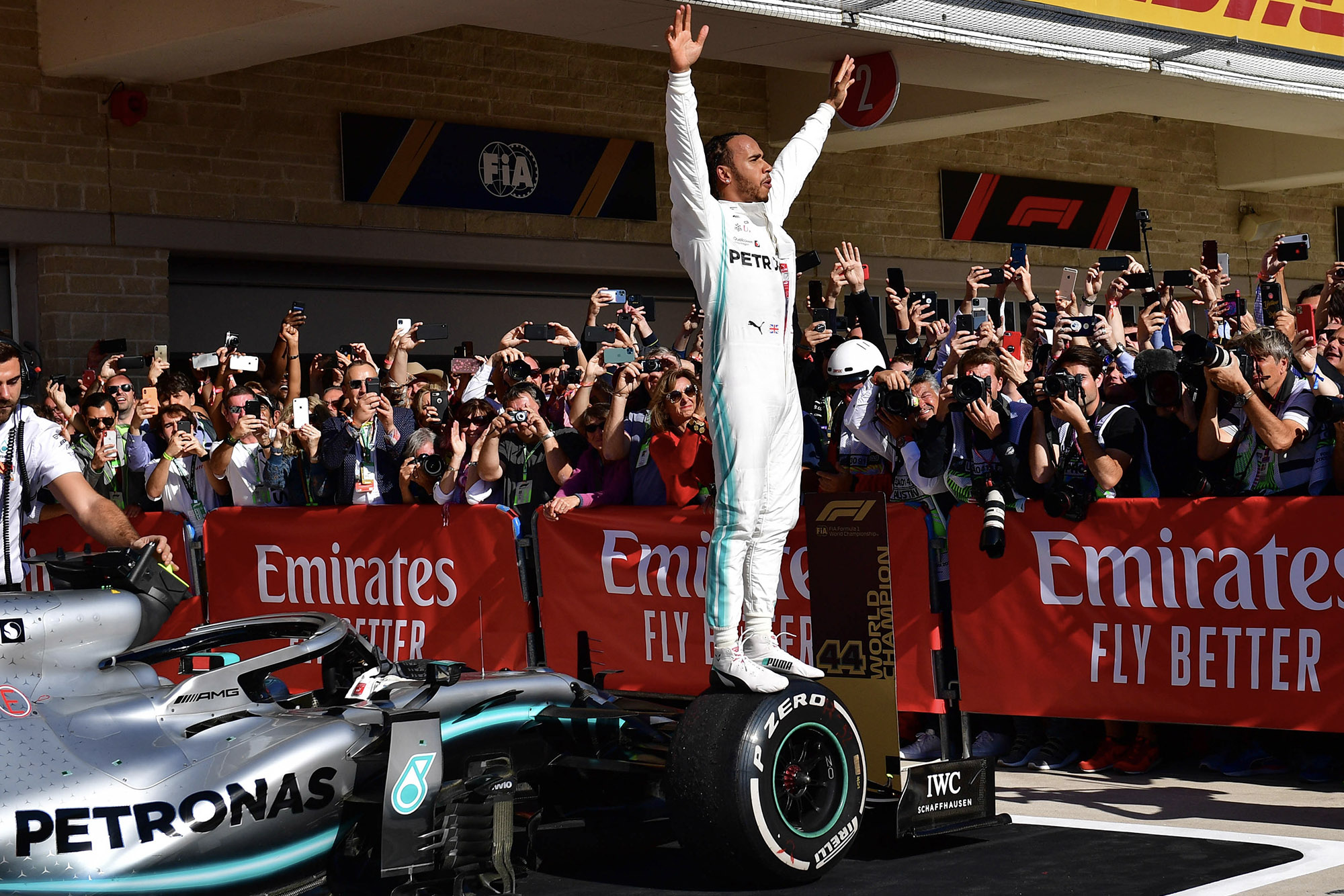 Hamilton clinches sixth F1 title as Bottas wins the 2019 US Grand Prix — race results