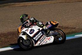 Cal Crutchlow fulfils a lifetime dream: riding a 500cc Grand Prix bike