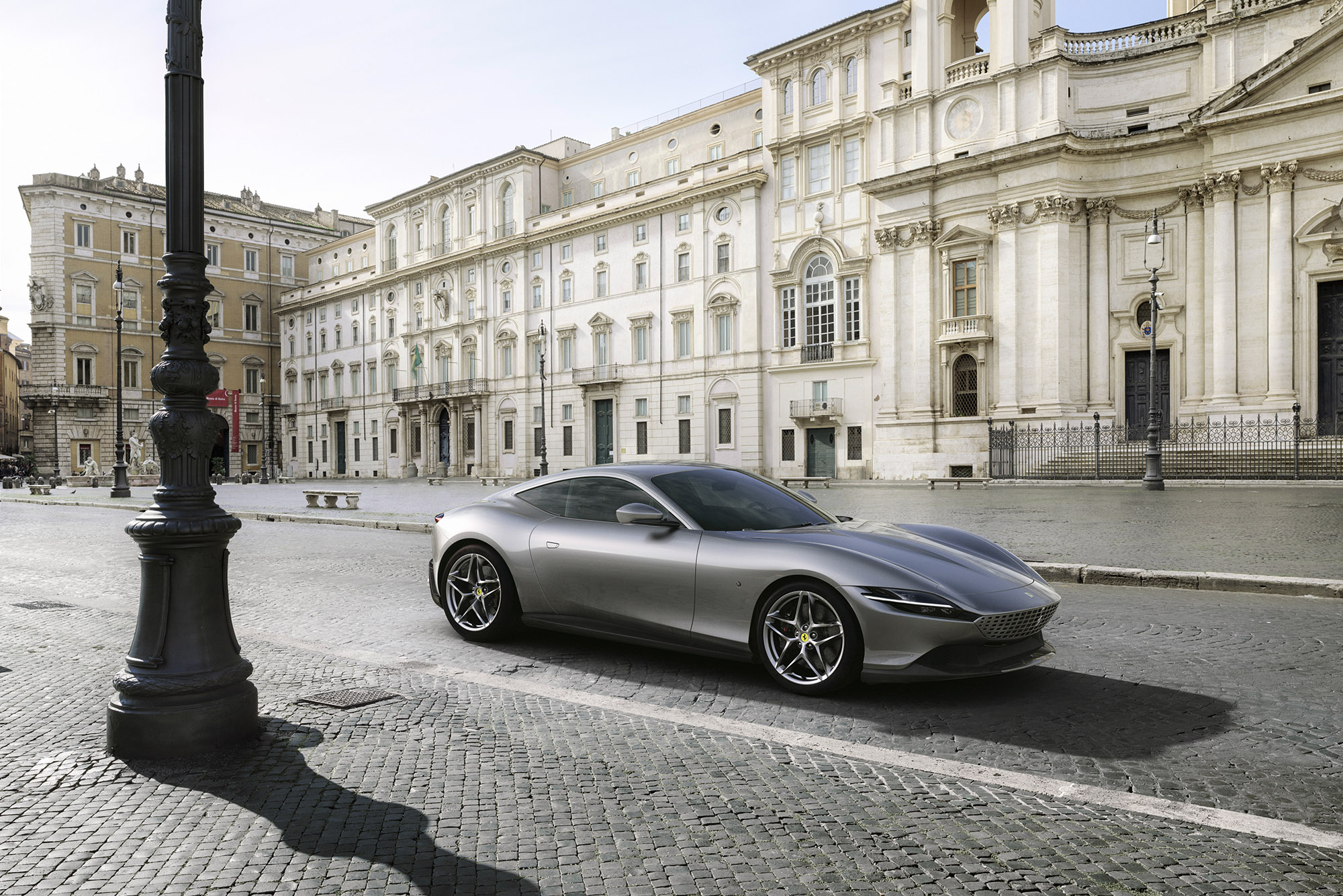 New 2019 Ferrari Roma revealed as front-engined V8 coupé