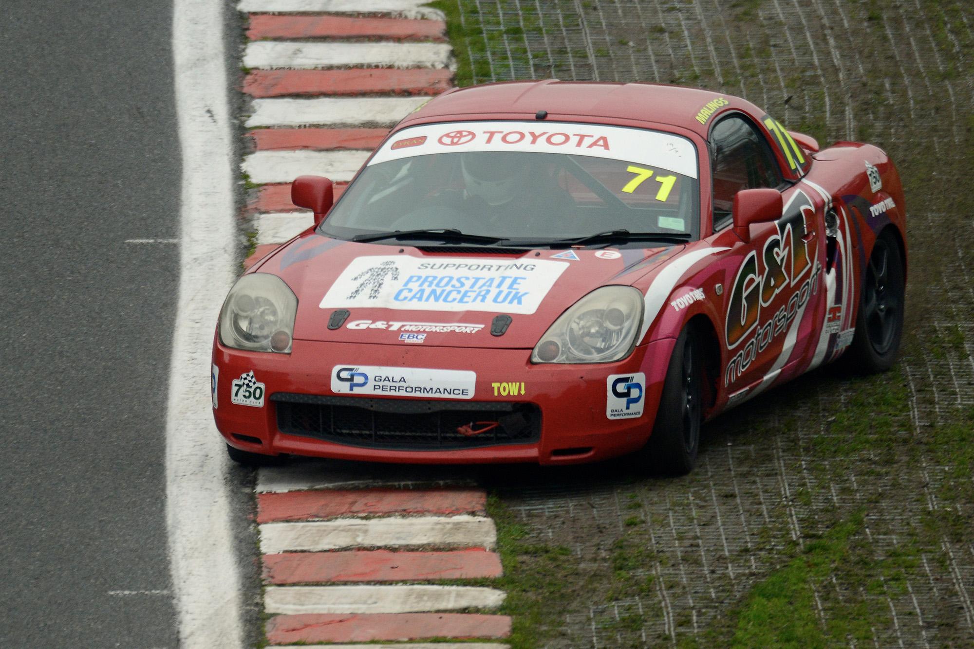 Toyota MR2 Oulton Park October