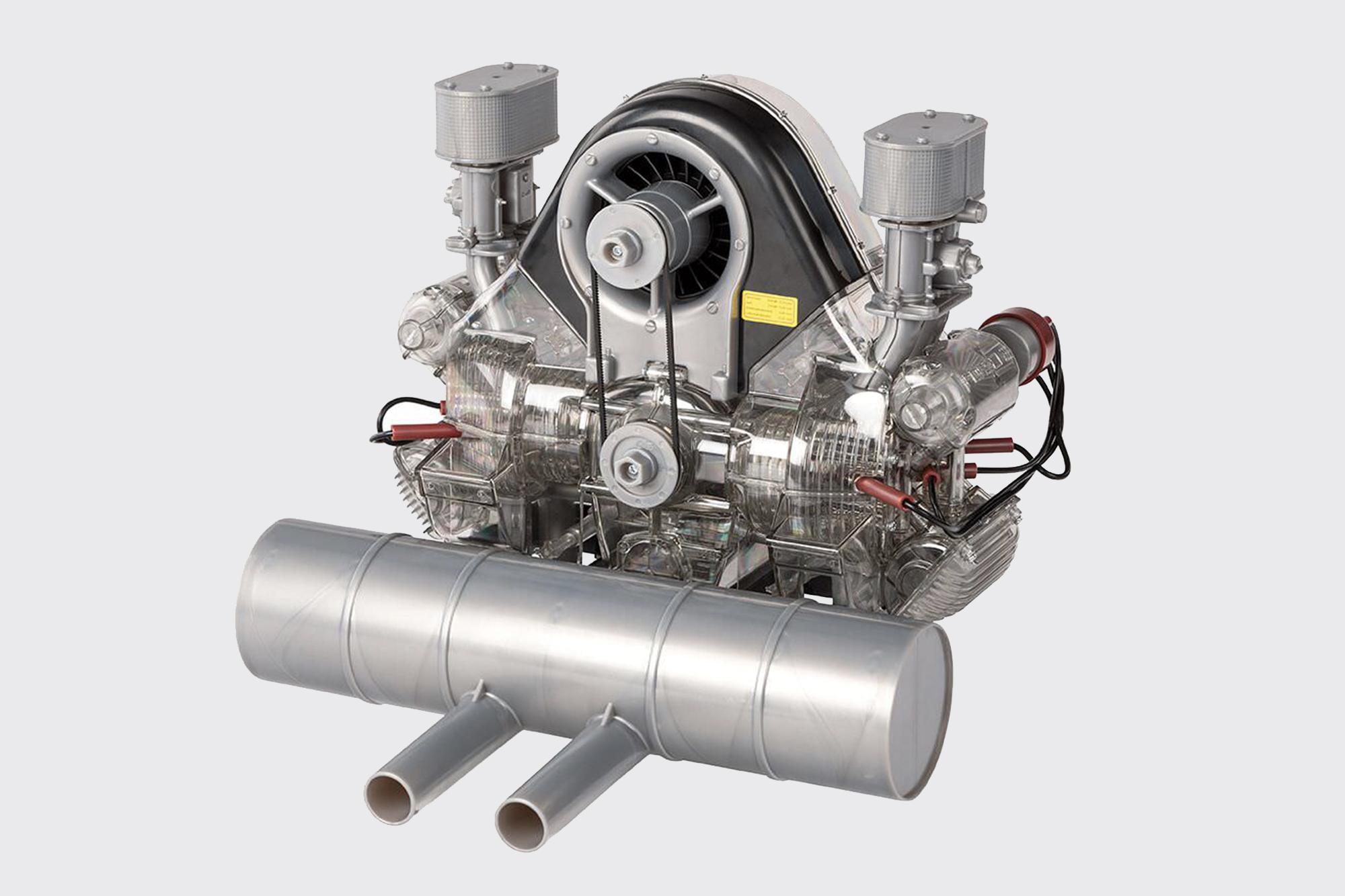 Porsche engine model