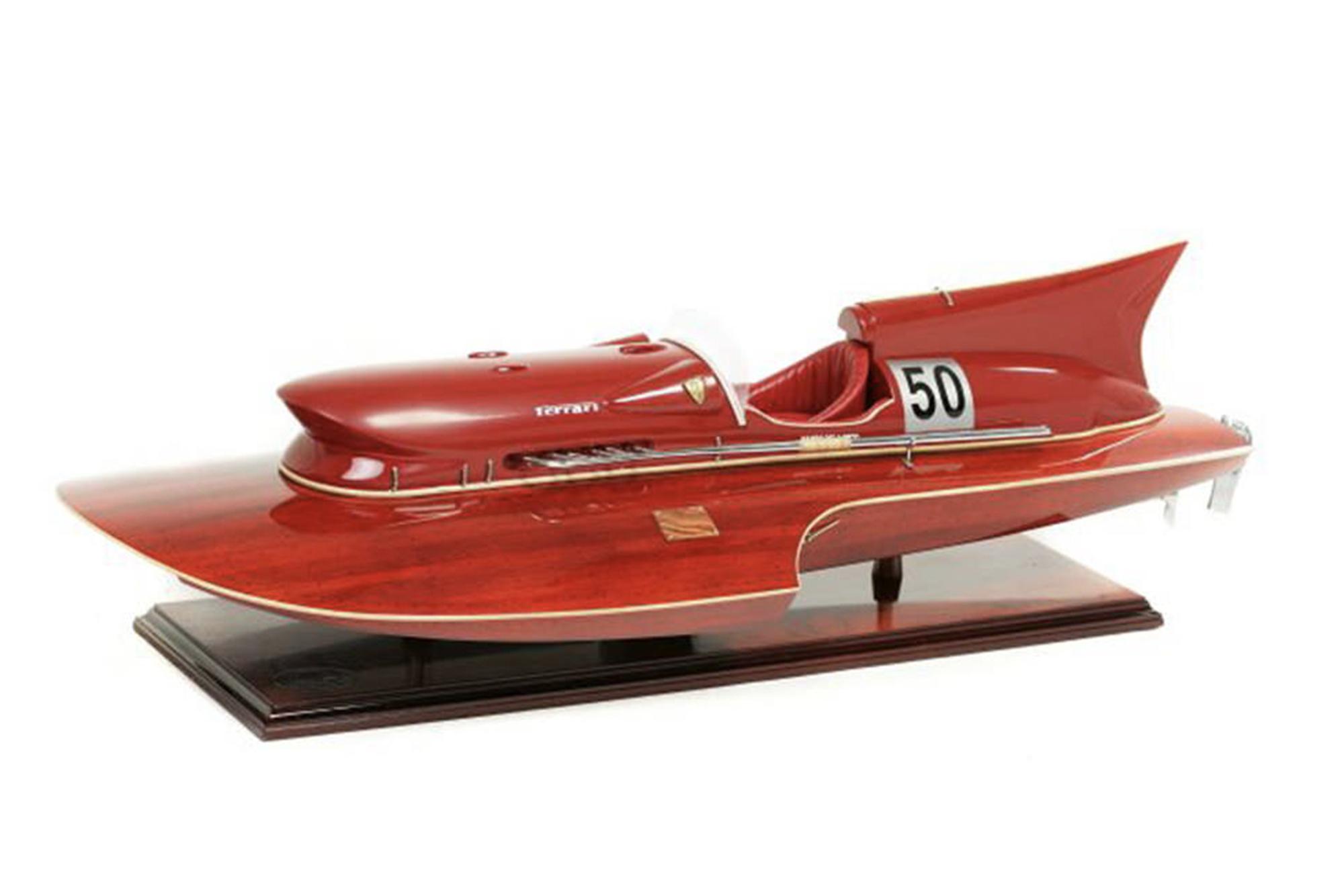 Ferrari hydroplane model