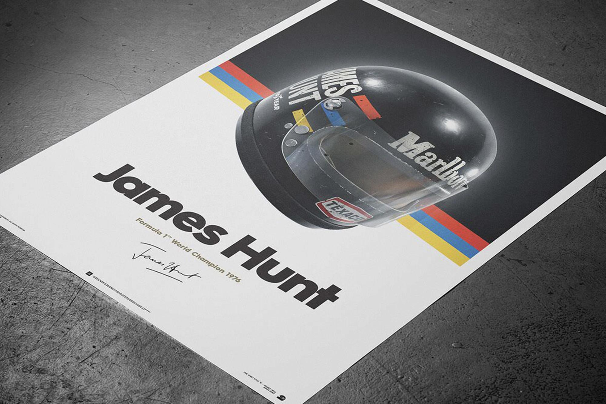 James Hunt Automobilist poster