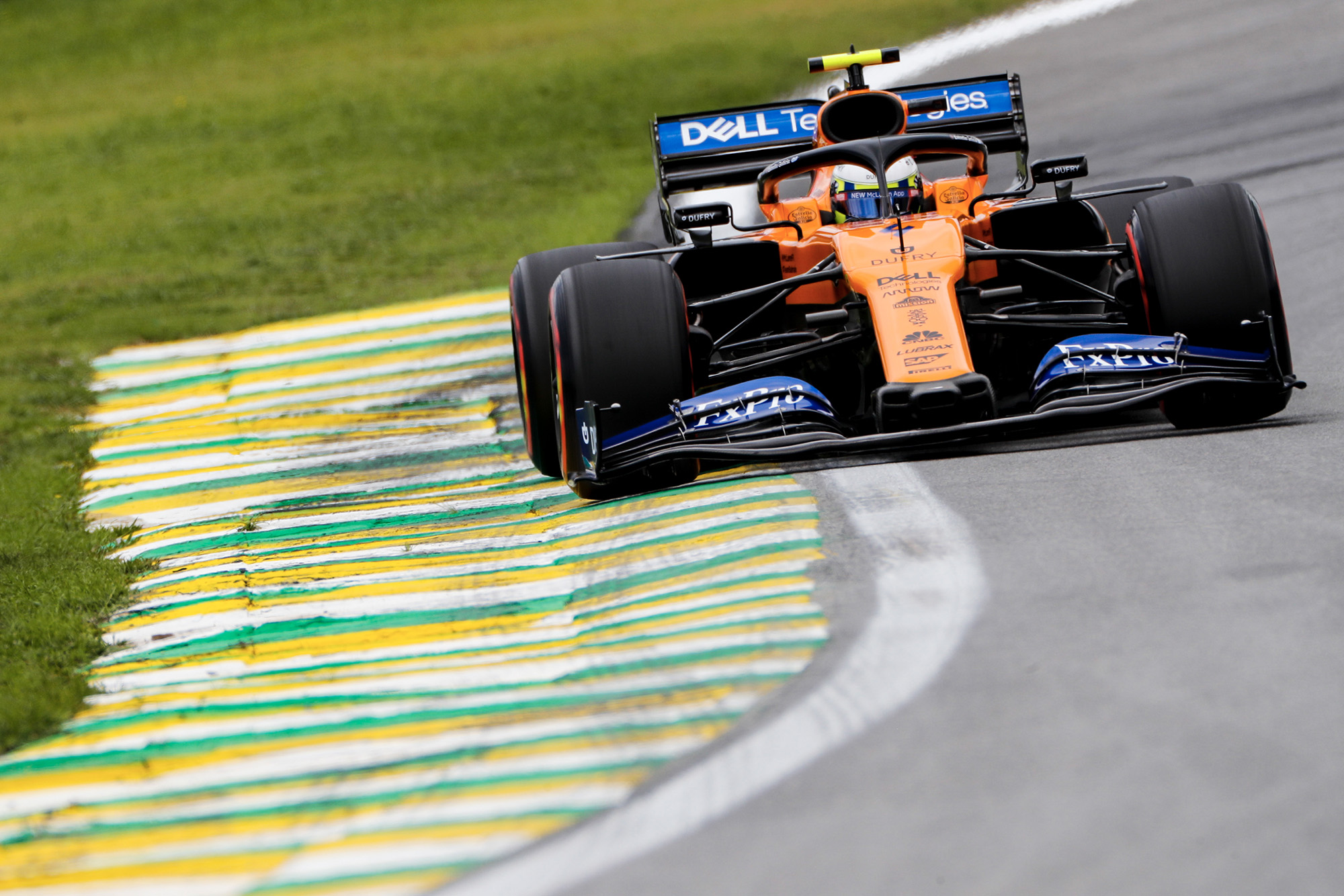 Lando Norris during the 2019 F1 Brazilian Grand Prix weekend