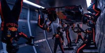 Video: Red Bull's Formula 1 pit stop in zero gravity