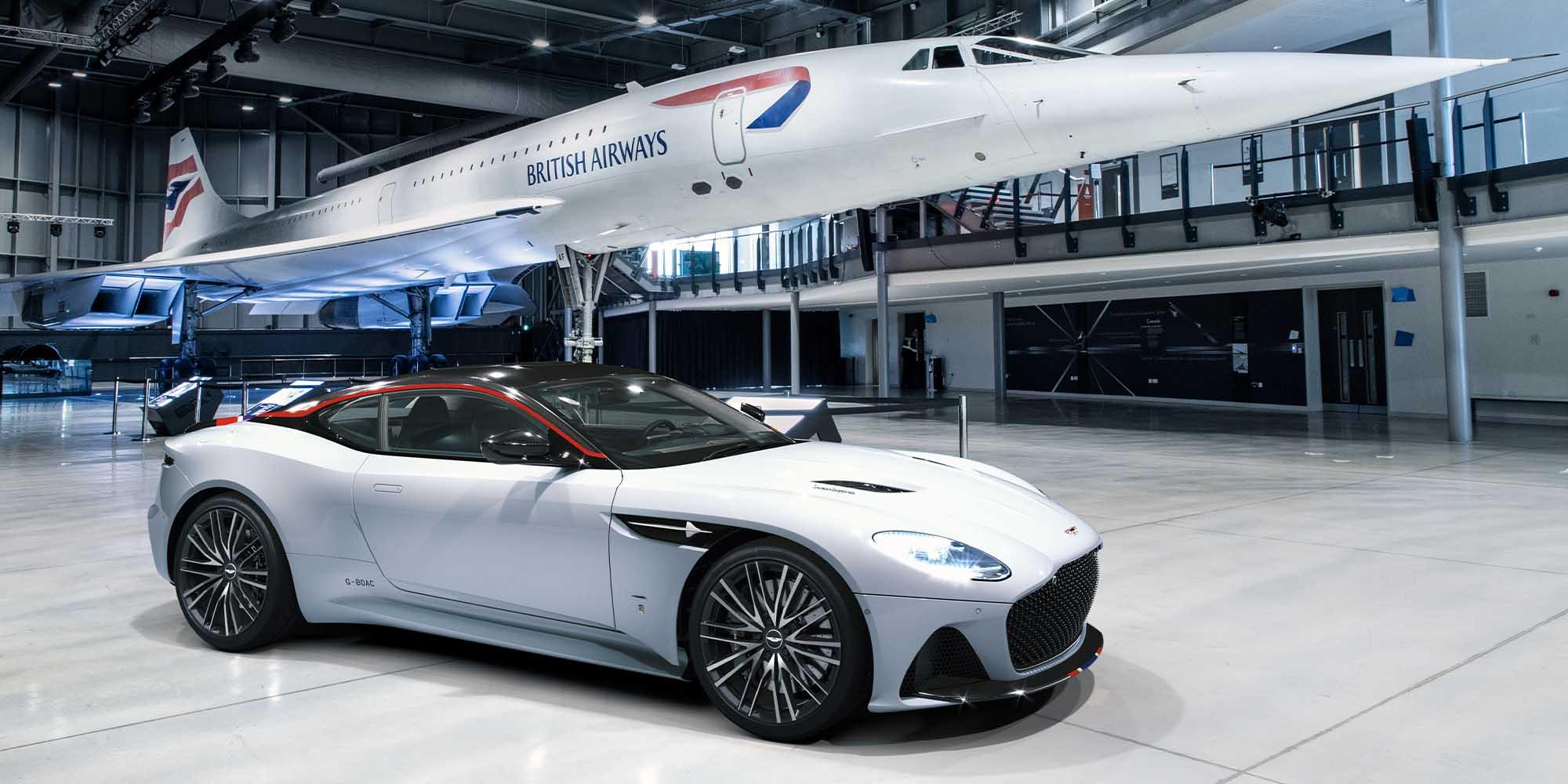 Aston Martin commemorates Concorde with special edition Superleggera