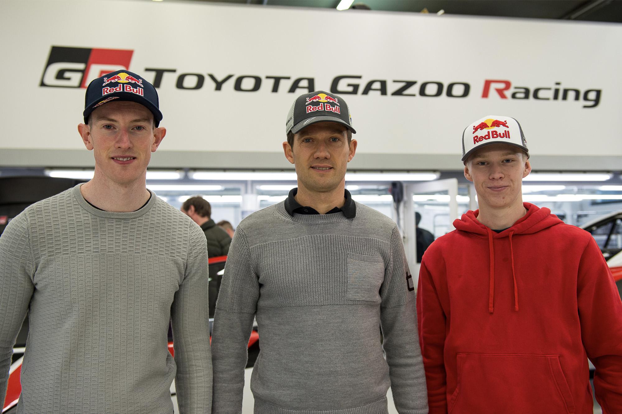Sebastien Ogier, Elfyn Evans and Kalle Rovanpera as Toyota's 2020 WRC line-up