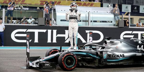 Hamilton's encore: champion on pole as Ferrari stumbles again in Abu Dhabi GP qualifying