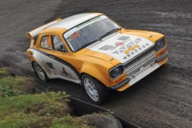 Back to the '70s: winter rallycross returns to Lydden Hill