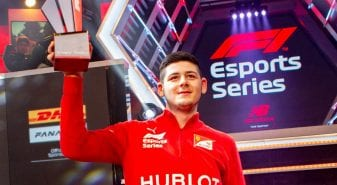 David Tonizza wins F1 Esports final for Ferrari