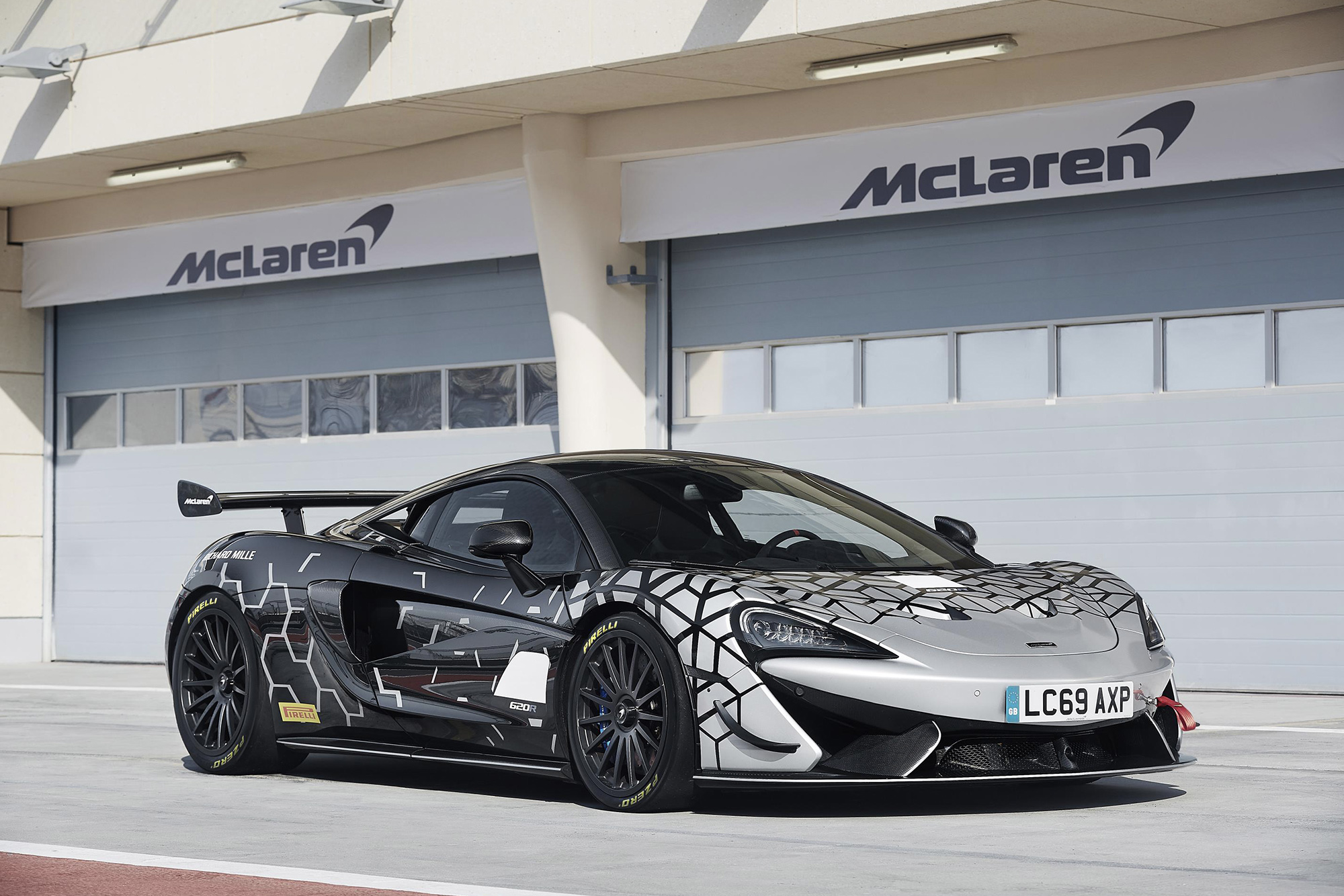 The McLaren 620R