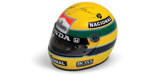F1 memorabilia sale: 1988 Ayrton Senna helmet fetches $100k