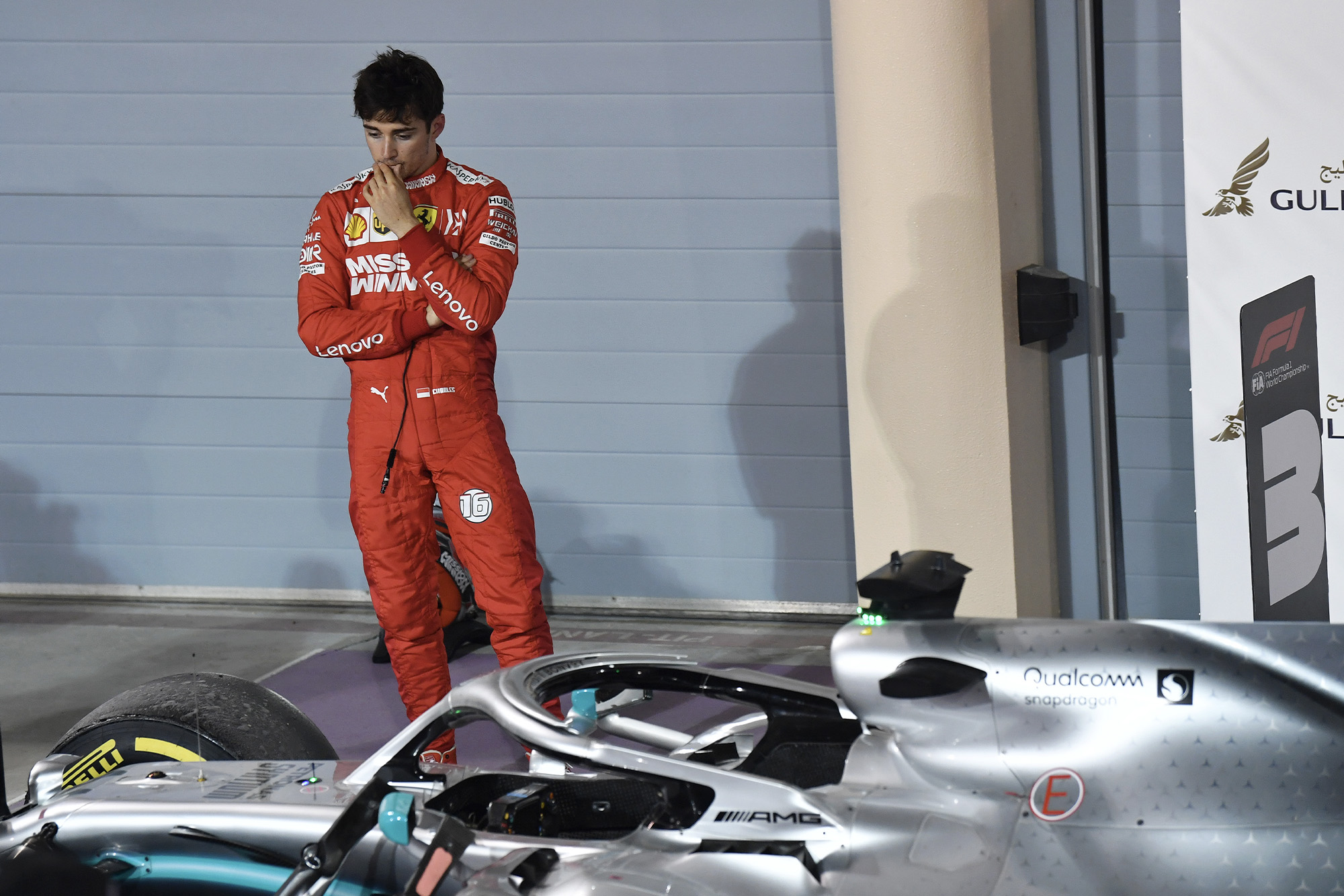 Charles Leclerc reflects on an opportunity missed after the Bahrain Grand Prix