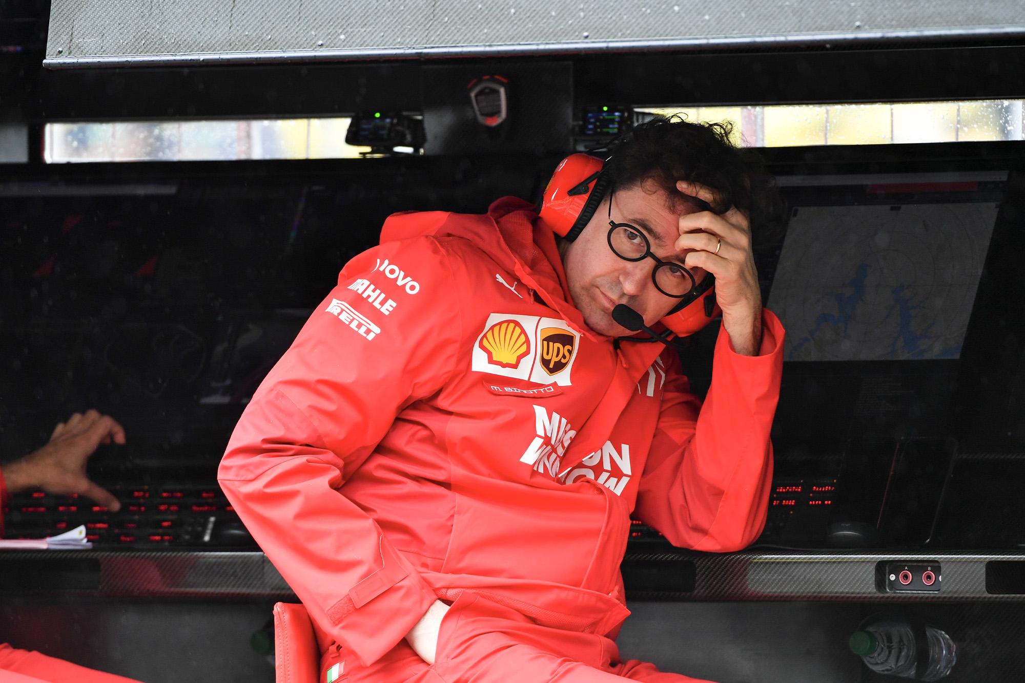 Mattia Binotto during the 2019 Brazilian Grand Prix weekend