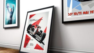 F1 posters: the best of grand prix wall art