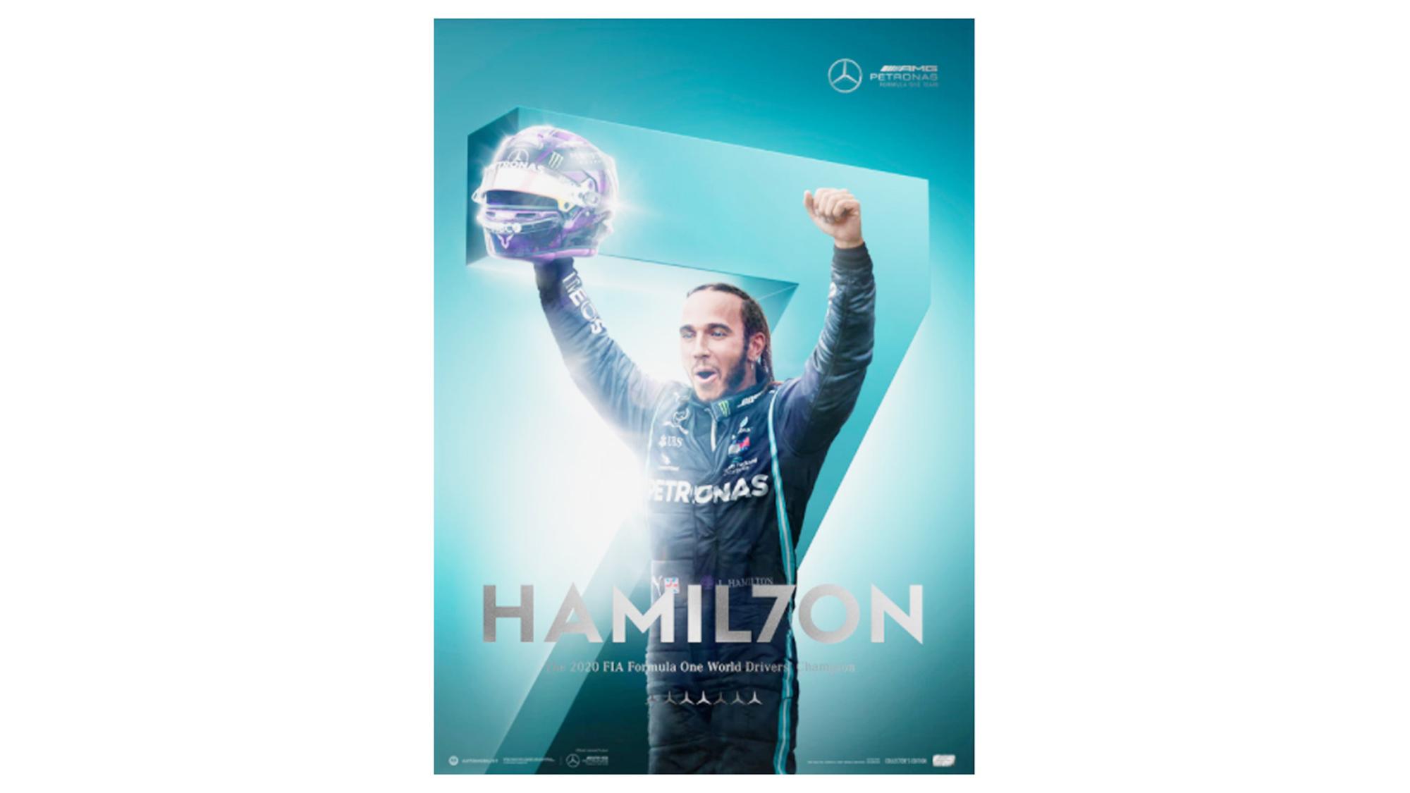 Hamilton 7 poster
