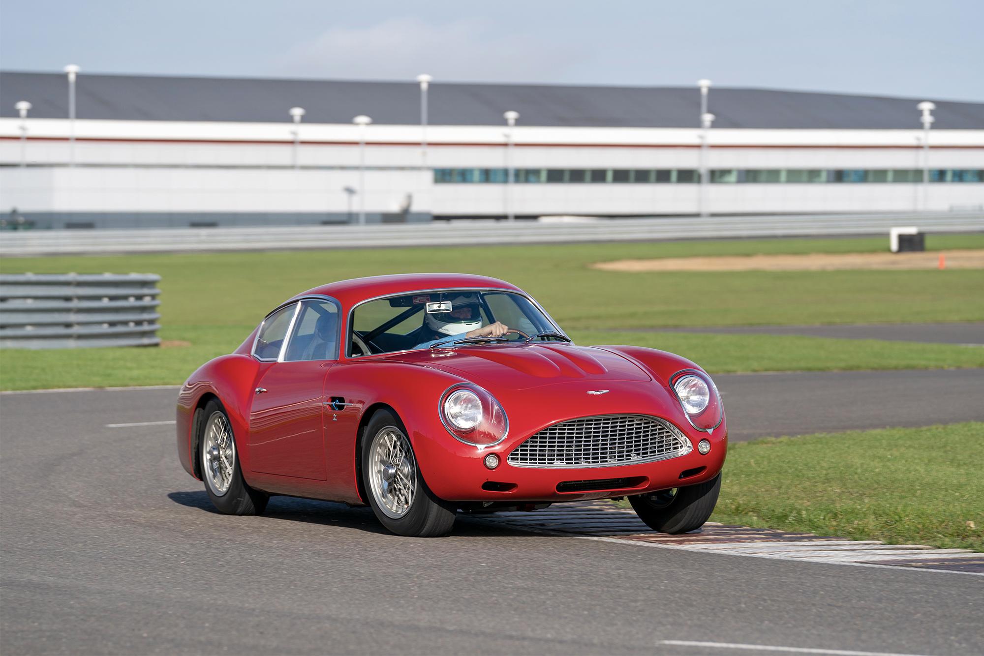 Aston Martin Db4 Gt Zagato Continuation Motor Sport Magazine