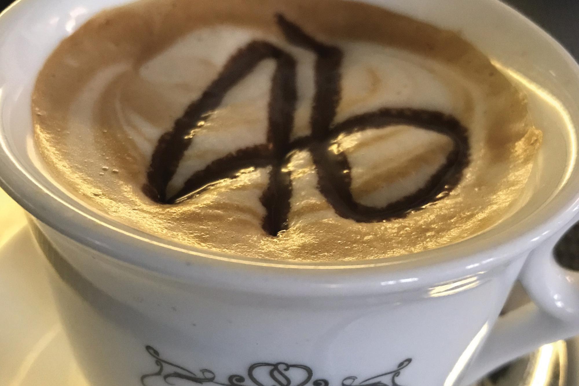 VR46 coffee