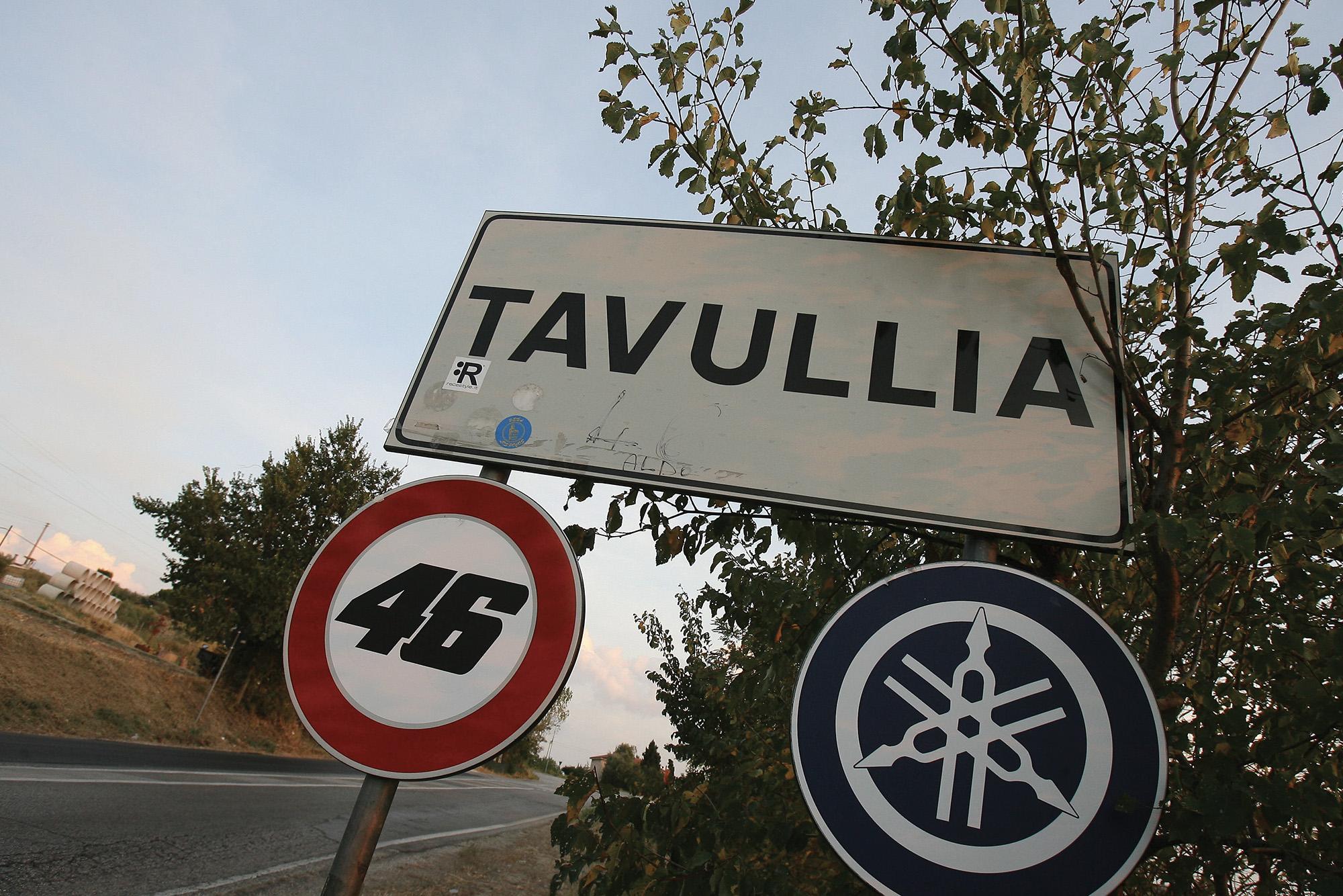 Tavullia sign