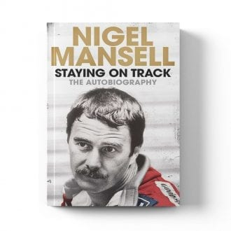 Product image for Staying on Track | The Autobiography | Signed Nigel Mansell