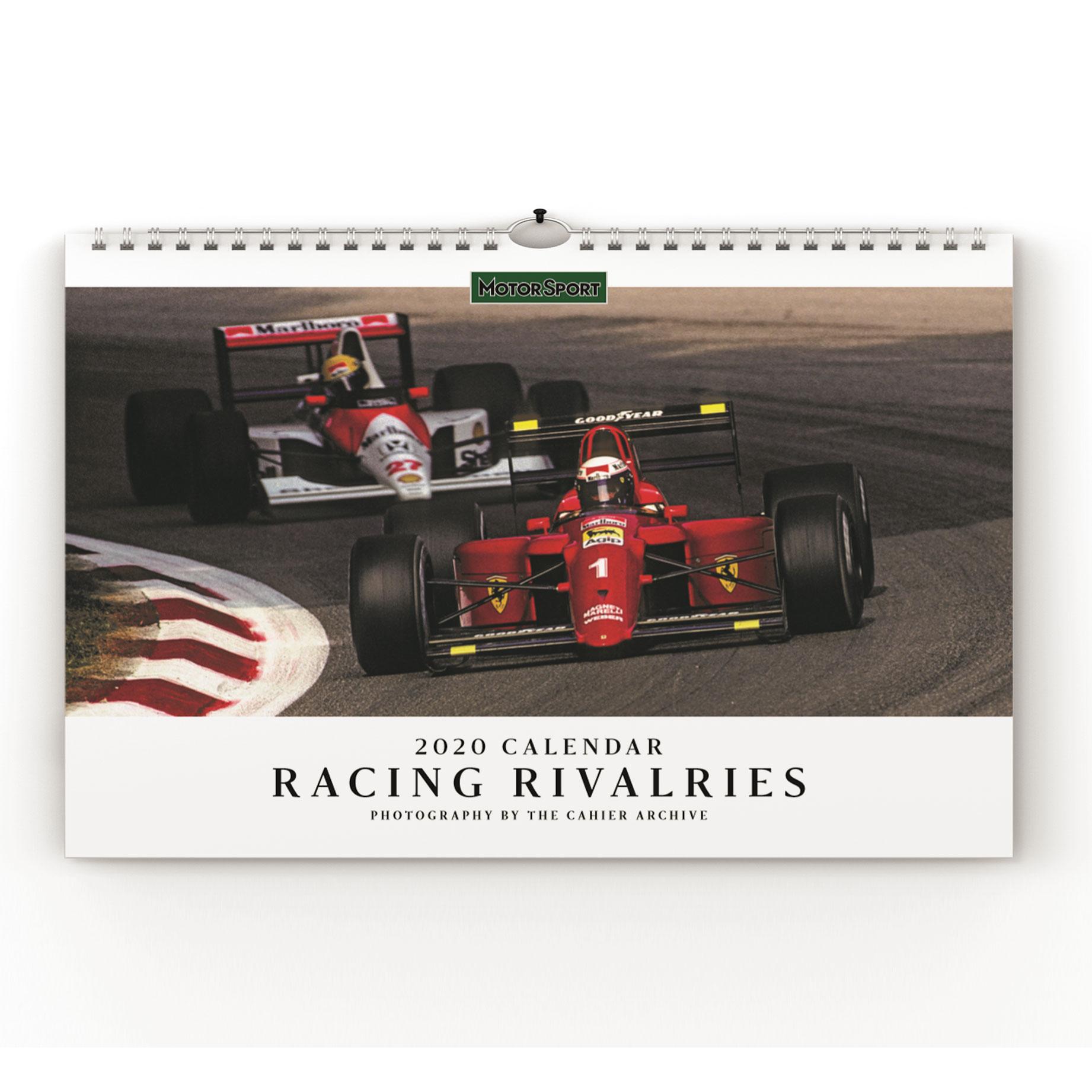 Product image for Motor Sport Calendar 2020 - Racing Rivalries