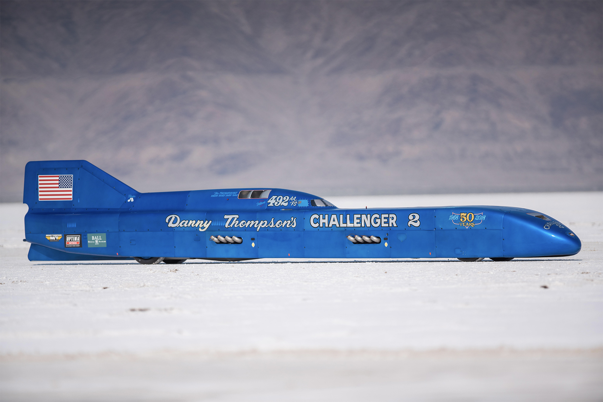 Challenger 2 land speed record car