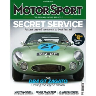 Product image for February 2020 | Secret Service - Aston Martin | Motor Sport Magazine