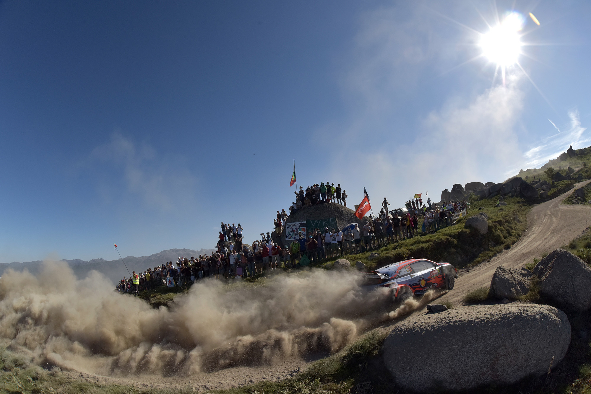 Thierry Neuville during 2019 Rally Portugal
