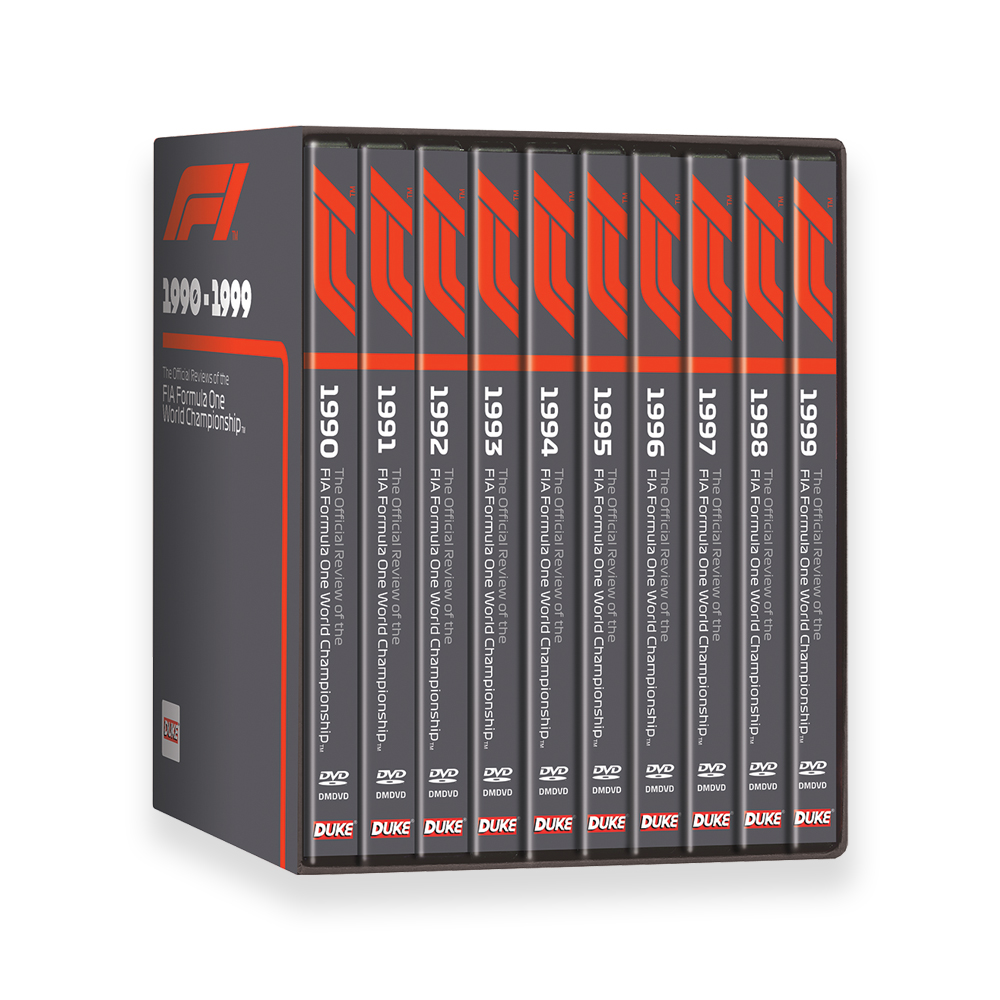 Product image for F1 | 1990-99 | DVD | Box Set