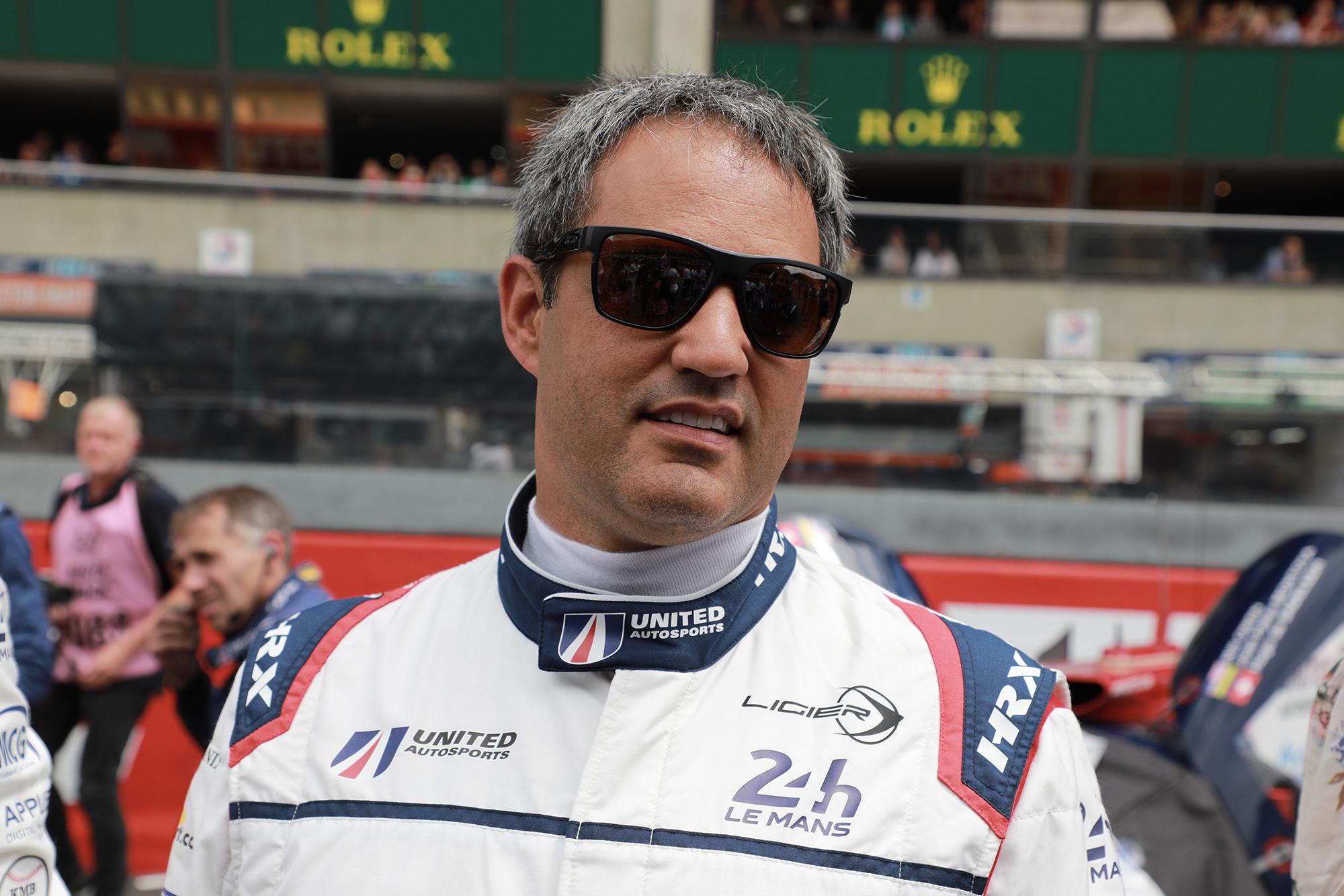 Juan Pablo Montoya at the 2018 Le Mans 24 Hours