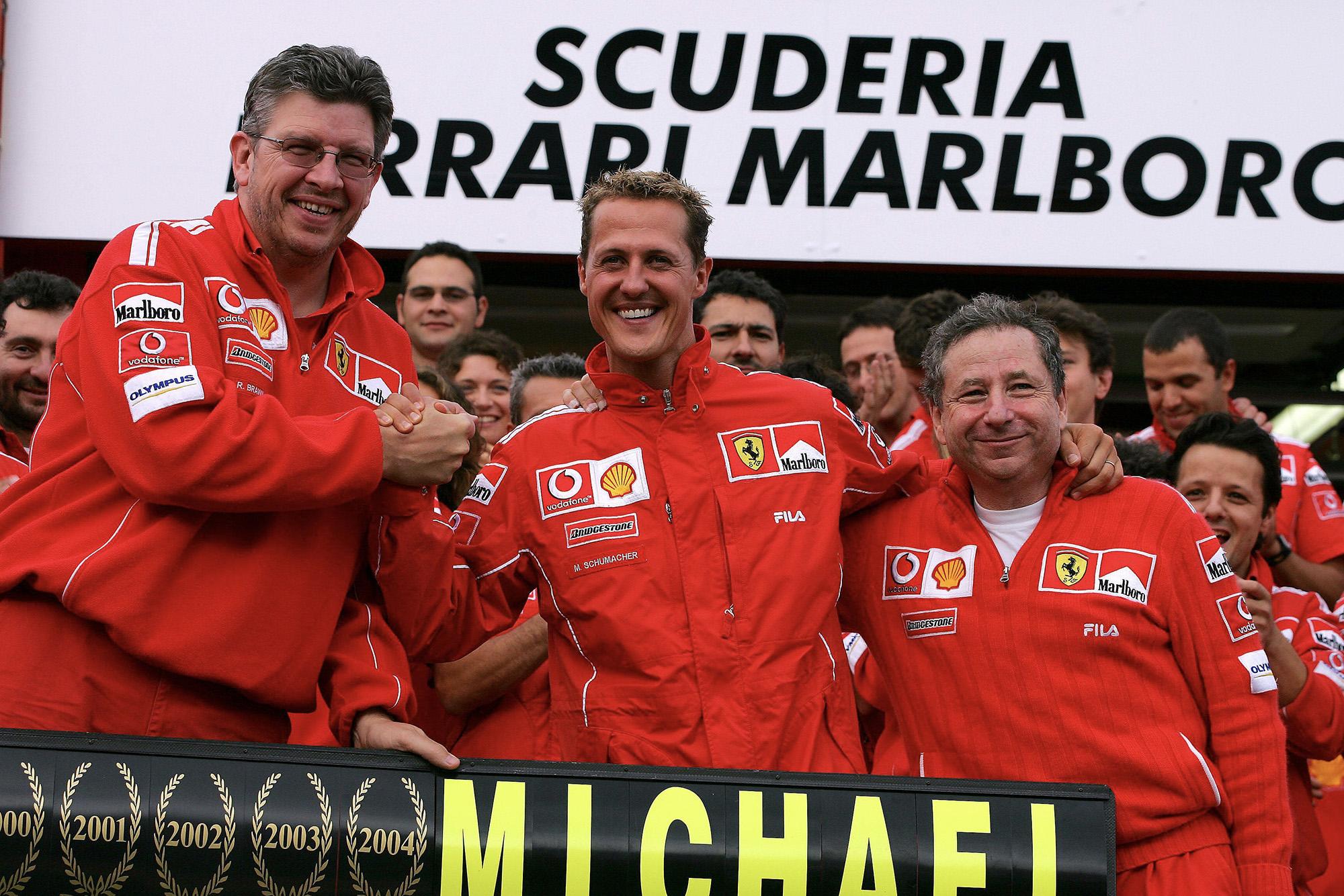 Brawn Schumacher and Todt
