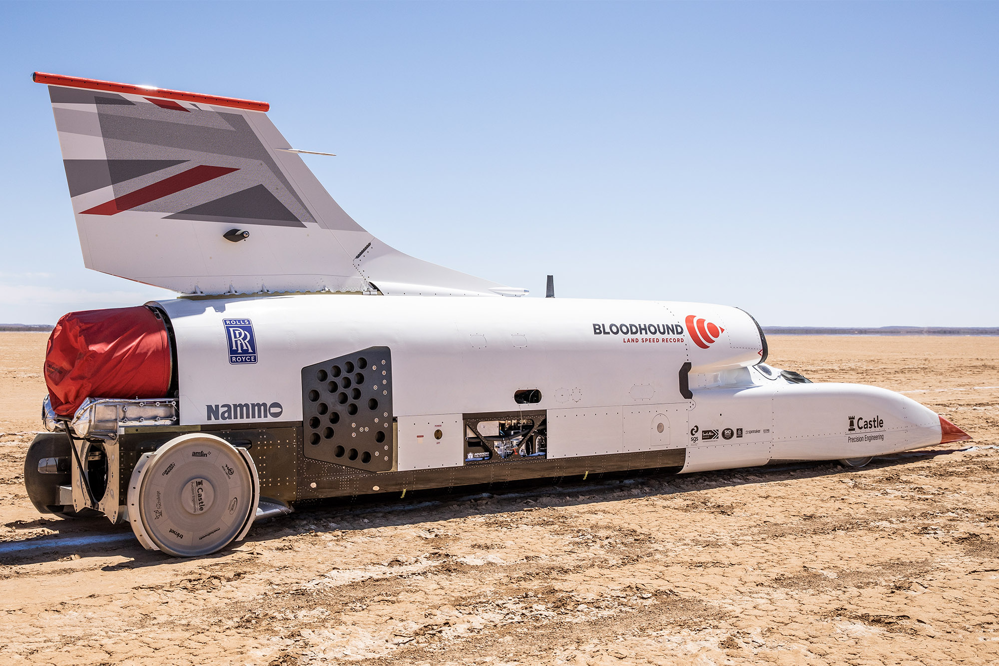 Land speed record in sight for Bloodhound after successful 2019 in South Africa