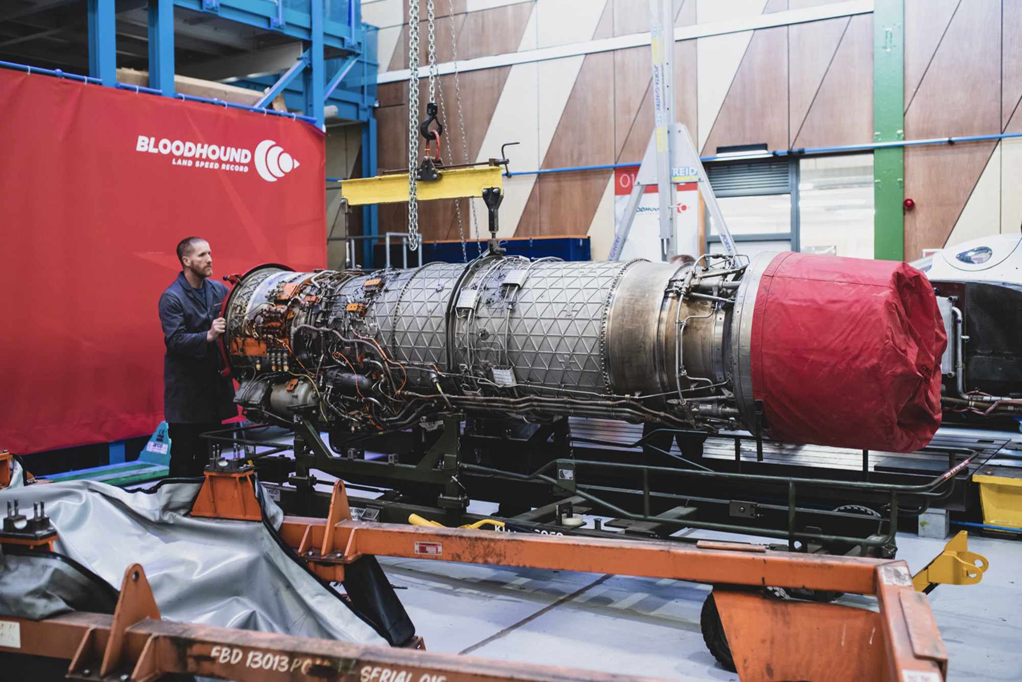 Beating heart of Bloodhound: hands-on with its jet engine