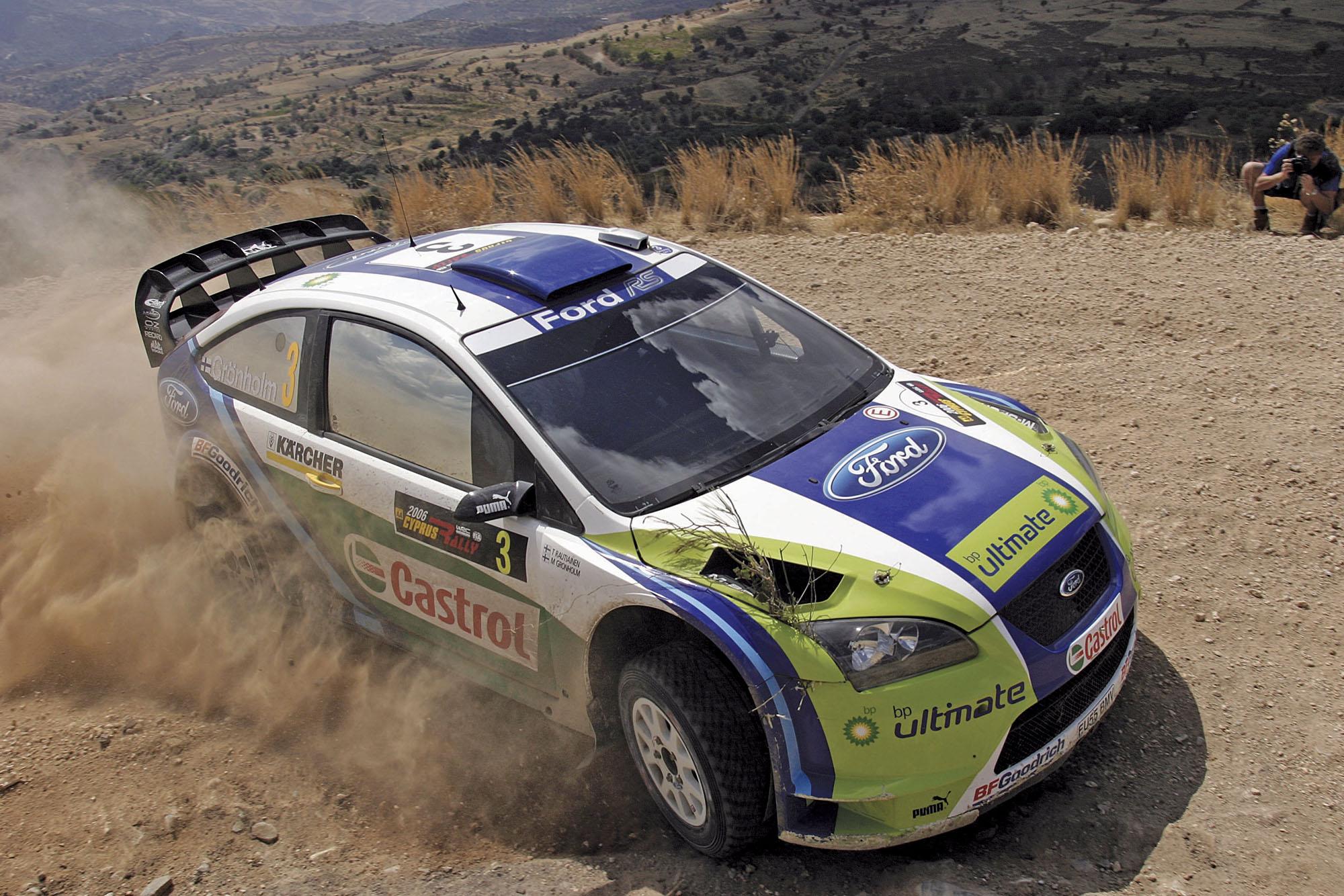 Gronholm Ford WRC