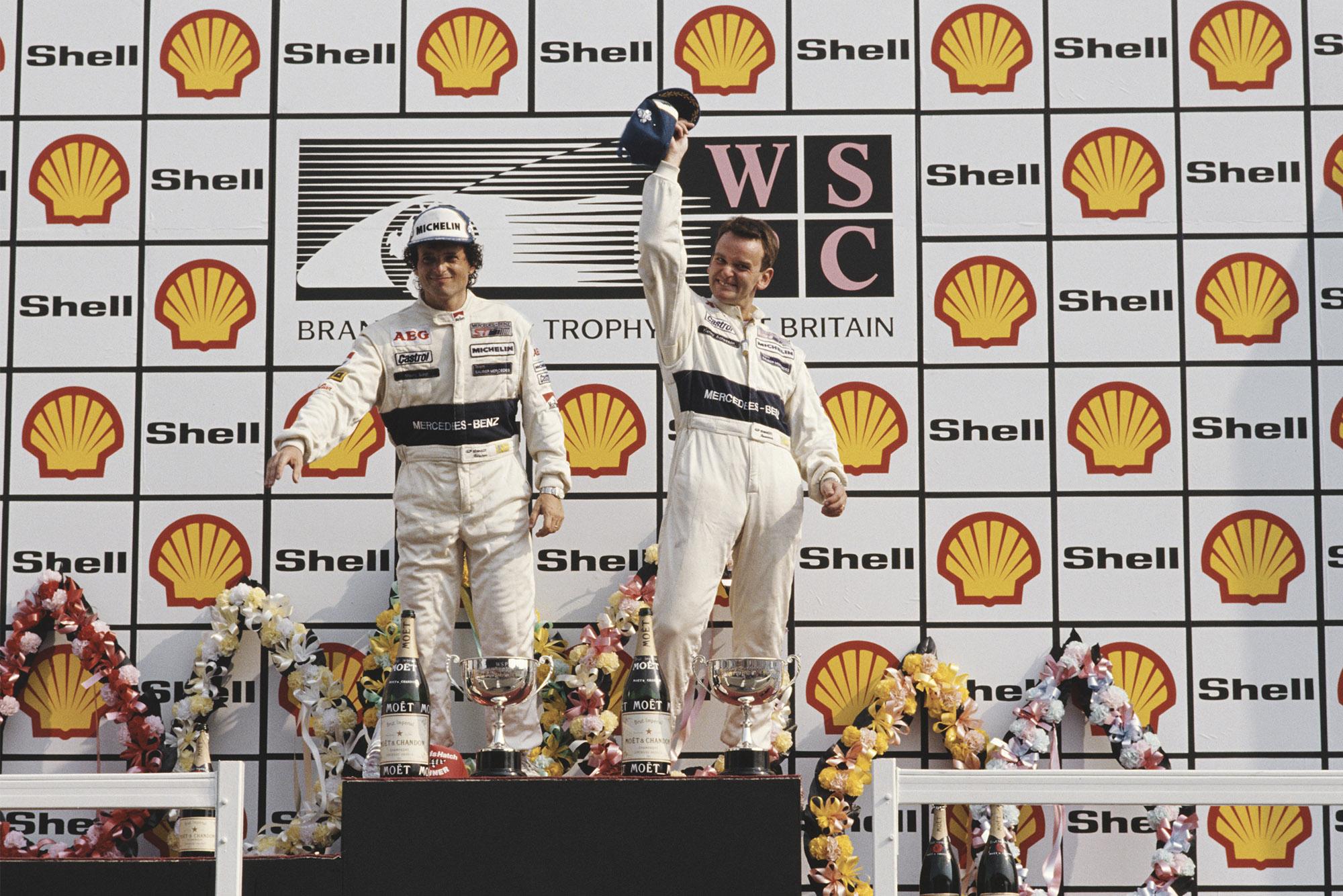 Kenny Acheson Brands Hatch Sauber